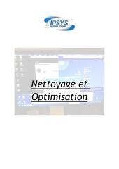 Fichier PDF nettoyage et optimisation
