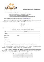 Fichier PDF nouveau bulletin adhesion