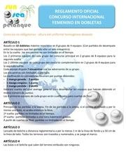 reglement concours international feminin es 2013