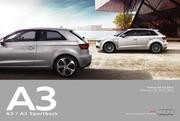 tarif a3 a3 sportback 06 12 2012 maj 24 01 2013 1