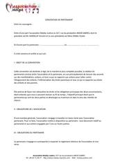 contrat partenariat