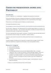 Fichier PDF debuter avec photorecit