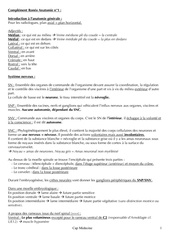 complement roneo anatomie n 1