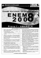 enem2008 prova