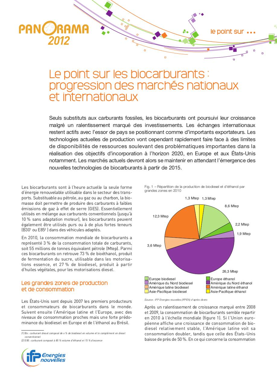 Panorama2012_02-VF_Point-Biocarburants.pdf - page 1/7