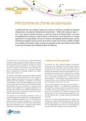 vf 2012 petrochimie et chimie ex biomasse