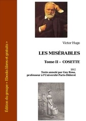 victor hugo les miserables tome ii cosette