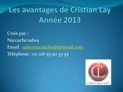 avantage cristian lay