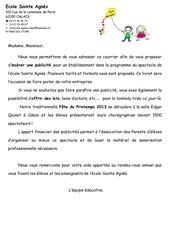 Fichier PDF publicite prog fete ecole sainte agnes