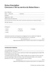 Fichier PDF fiche inscription