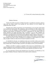 Lettre De Motivation Disney Par Grégoire M Fichier Pdf
