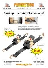 flyer spanngurt automatik sps