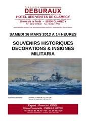 francis loisel expert vente clamecy 16 mars 2013