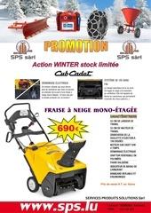 promo winter 1 2013 fraise a neige