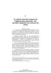 rapport cour des comptes smtc