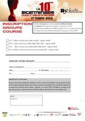 inscription groupe course 1