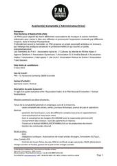 Fichier PDF profil poste mutualise