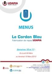 sem10 11 menus cordon bleu 04mars 15mars