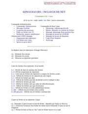 Fichier PDF cmd linux
