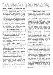 ndeg5 journal de la greve psa aulnay 2013 0