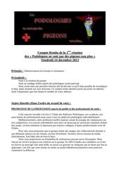 cr reunion du 14 decembre 2012