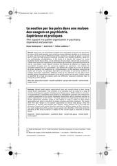 soutien par les pairs beetlestone caria loubieres
