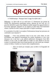 Fichier PDF qr code