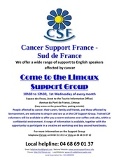 csf and support group march 2013