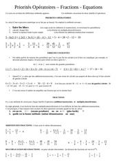 bilan fractions equations ptes op