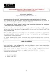 Fichier PDF dossier artiste