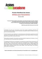 Fichier PDF manifeste ecosocialisme
