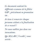 examens s2 aiac