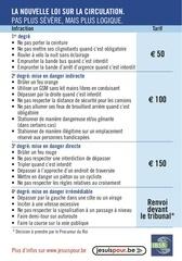 infractions routieres en belgique 2