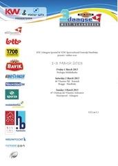 trois jours de flandre occidentale 2013 guide technique
