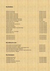 carte wine france catalogue