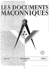 les documents maconniques volume iv 1943