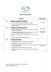 plan d action 2013 ciel et terre