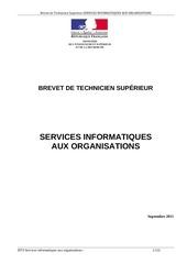 bts servicesinformatiquesorganisations