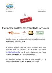 carlift liquidation 2013