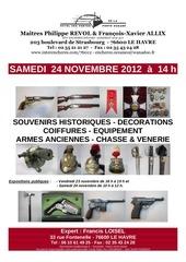 francis loisel expert vente le havre 24 nov 2012