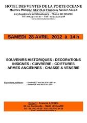 francis loisel expert vente le havre 28 avril 2012
