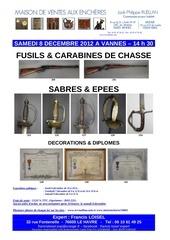francis loisel expert vente vannes 8 decembre 2012