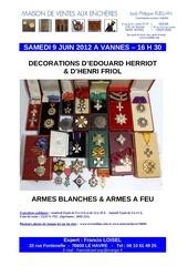 francis loisel expert vente vannes 9 juin 2012
