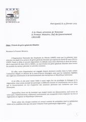 preavis de greve generale illimitee 2013