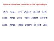 Fichier PDF vocabulaire