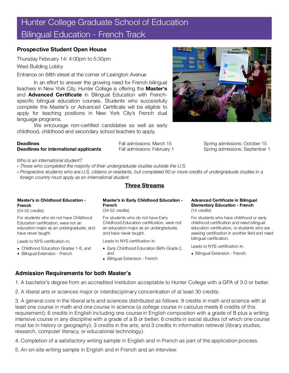 Hunter Bilingual French Track Flyer Pdf Fichier Pdf