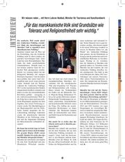 interview mit herrn lahcen haddad minister f r tourismus und kunsthandwerk