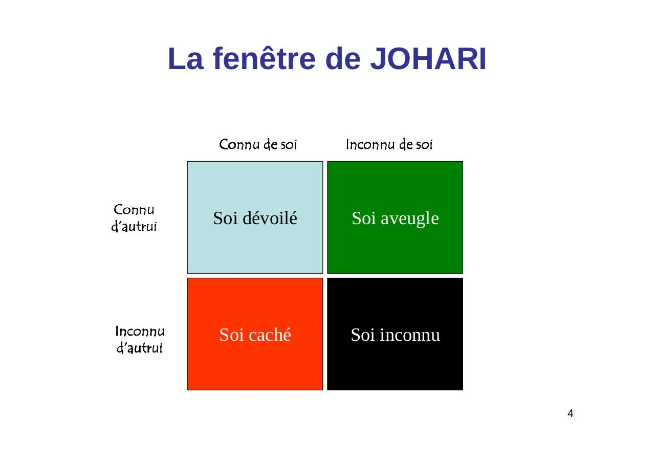 Aper u du fichier la communication interpersonnelle for Fenetre johari