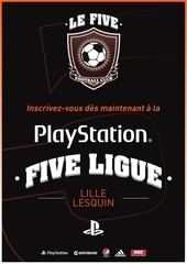 playstation five ligue lille