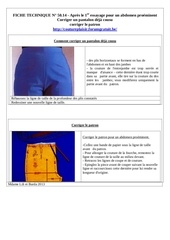 50 14 apres 1er essayage corriger abdomen proeminent